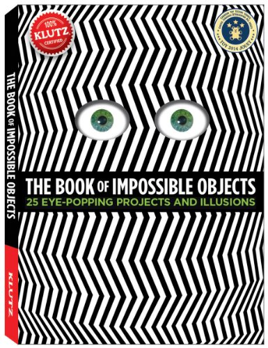 9780545496476: The Book of Impossible Objects: 25 Eye-Popping Projects to Make, See and Do