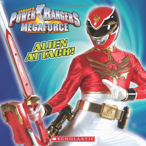9780545500128: Power Rangers Megaforce: Alien Attack!