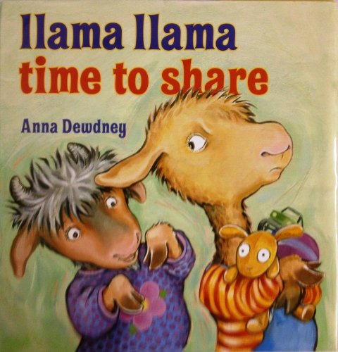 9780545500579: [Llama Llama Time to Share] (By: Anna Dewdney) [published: November, 2012]
