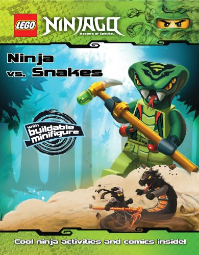 9780545505413: Lego Ninjago: Ninja vs. Snakes [With Buildable Minifigure] (Lego Ninjago, Masters of Spinjitzu)
