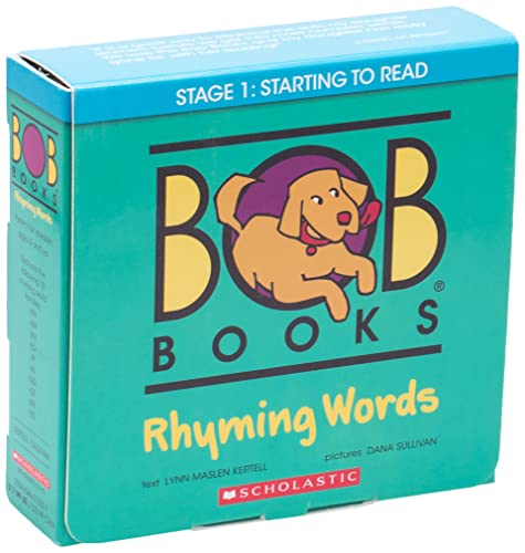 9780545513227: Bob Books: Rhyming Words [With 40 Rhyming Word Puzzle Cards]