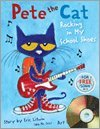 9780545514217: Pete the Cat Rocking in My School Shoes (paperback and CD)