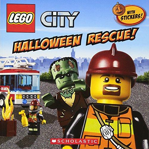 9780545515726: Lego City: Halloween Rescue