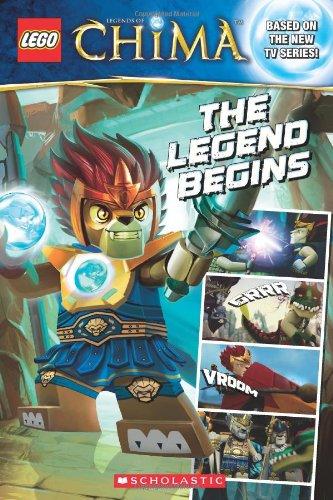9780545517508: LEGO® Legends of Chima: The Legend Begins (Comic Reader #1)