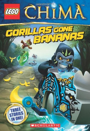 9780545517522: LEGO Legends of Chima: Gorillas Gone Bananas Chapter Book #3