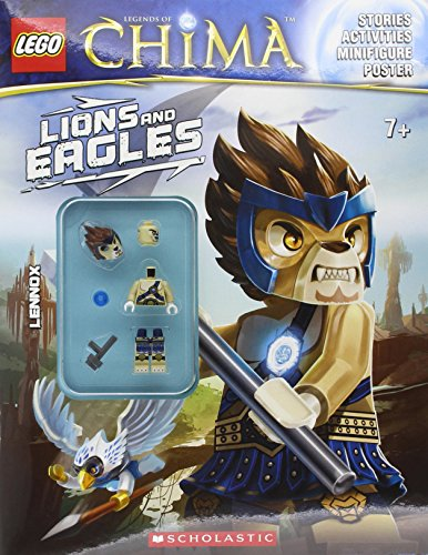 9780545517539: Lego Legends of Chima: Lions and Eagles [With Minifigure]