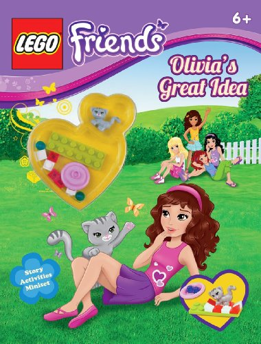 LEGO Friends: Olivia's Great Idea (Activity Book #1) 9780545517591 This LEGO(R) Friends activity book includes stories and games--and a LEGO animal and buildable habitat! Time for fun with the five LEGO