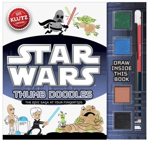 9780545522823: Star Wars Thumb Doodles (Klutz)