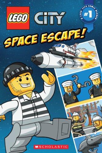 9780545529471: Lego City Space Escape! (Lego City Comic Readers)