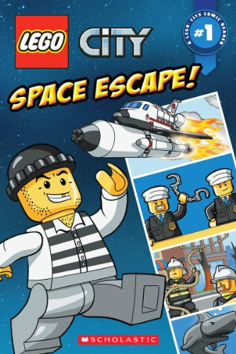 9780545529471: LEGO City: Space Escape Comic Reader