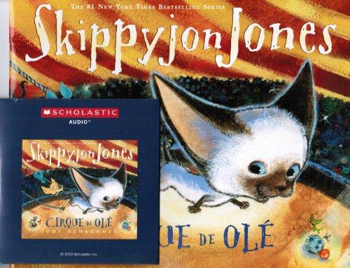 9780545529914: Skippyjon Jones Cirque De Ole with read along CD