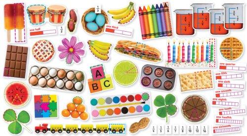 9780545530934: Fractions in Photos Mini Bulletin Board (Mini Bulletin Boards)