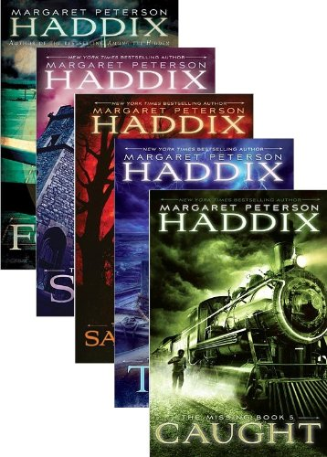 9780545533478: The Missing Pack By Margaret Peterson Haddix 5 Book Set Includes Books One-Five: Found; Sent; Sabotaged; Torn; and Caught (The Missing 5 Book Set)