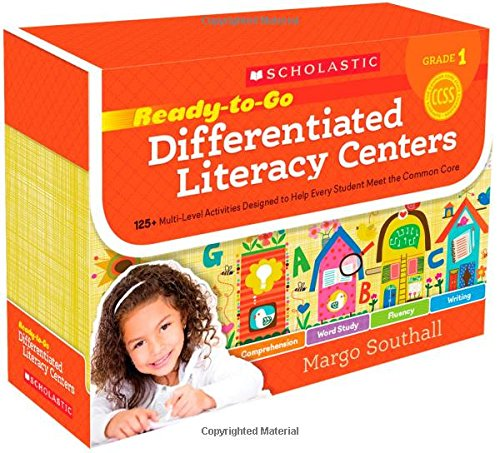 9780545549974: Ready-to-Go Differentiated Literacy Centers: Grade 1: Engaging Centers Designed to Help Every Student Meet the Common Core