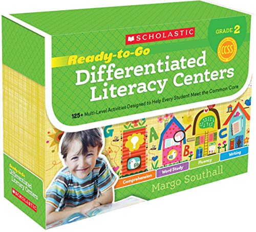 9780545549981: Ready-to-Go Differentiated Literacy Centers: Grade 2: Engaging Centers Designed to Help Every Student Meet the Common Core