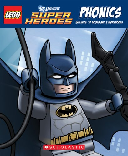 9780545552394: LEGO DC Super Heroes: Phonics Boxed Set