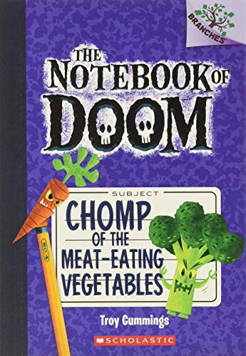 9780545552998: The Notebook of Doom #4: Chomp of the Meat-Eating Vegetables (A Branches Book)