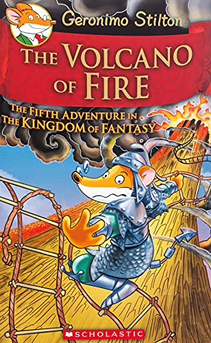 9780545556255: The Volcano of Fire: The Fifth Adventure in the Kingdom of Fantasy