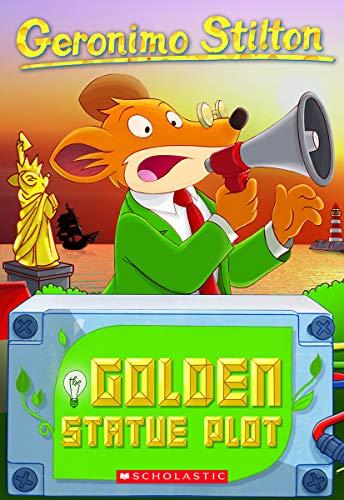 9780545556293: Geronimo Stilton #55: The Golden Statue Plot
