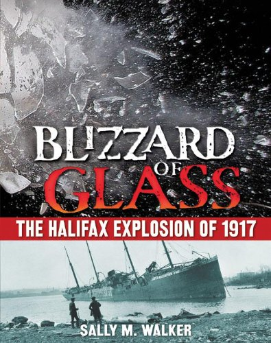 9780545556439: Blizzard of Glass: The Halifax Explosion of 1917