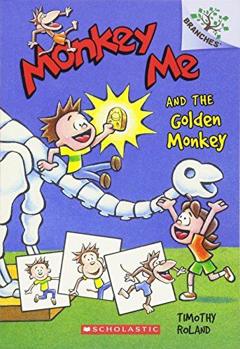9780545559768: Monkey Me and the Golden Monkey: A Branches Book (Monkey Me #1)