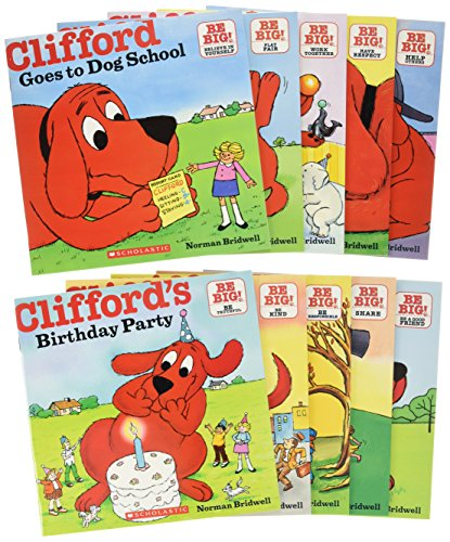 9780545560252: Cliffords Big Red Box. 50th Anniversary Pack (10 Book Set) ( Big Red Dog Fiftieth Anniversary Set ( Total 10 ) )(Chinese Edition)