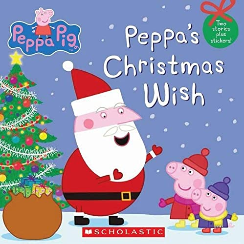 9780545565110: Peppa Pig: Peppa's Christmas Wish