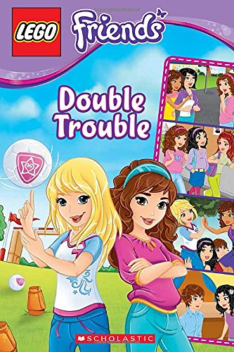 9780545566674: Double Trouble (Lego Friends Comic Readers)