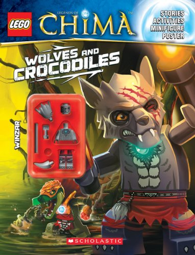 9780545570039: Lego Legends of Chima: Wolves and Crocodiles (Activity Book #2)