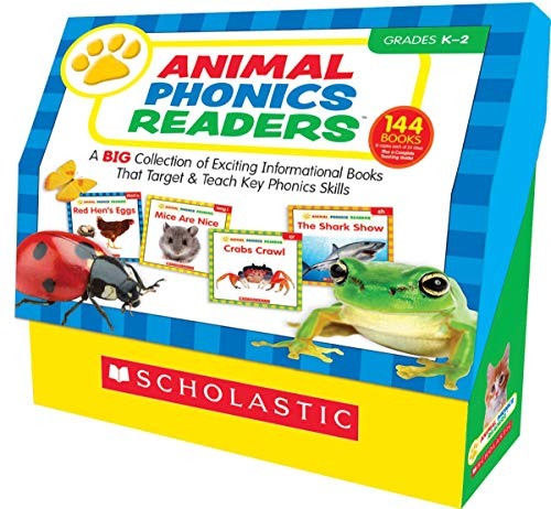9780545578141: Animal Phonics Readers: A Big Collection of Exciting Informational Books That Target and Teach Key Phonics Skills