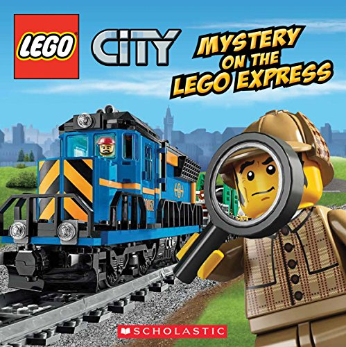 Lego City: Mystery On the Lego Express 9780545603669 All aboard! Time to take a wild ride on the LEGO(R) Express train! When a famous actress loses her award statue on the LEGO Express, it