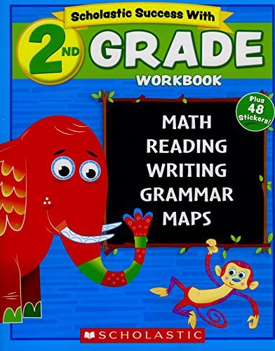 9780545605748: Scholastic - 2nd GRADE Workbook with Motivational Stickers (Scholastic Success With)