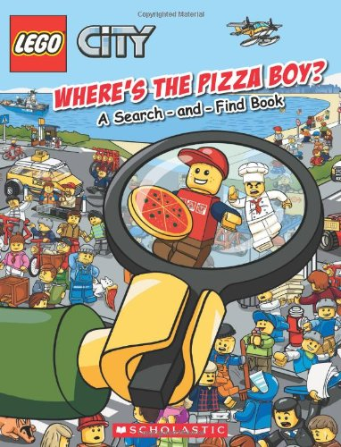 9780545608053: Where's The Pizza Boy?: A Search-and-Find Book