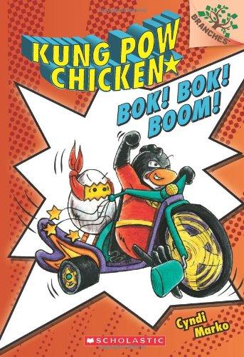 9780545610636: Bok! Bok! Boom!: A Branches Book (Kung POW Chicken #2): 02