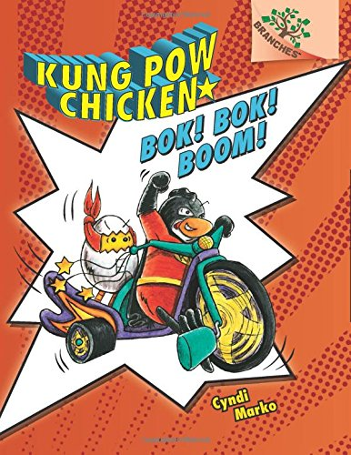 9780545610643: Kung Pow Chicken #2: Bok! Bok! Boom! (A Branches Book) - Library Edition