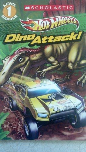 9780545625425: Scholastic Reader Level 1: Hot Wheels: Dino Attack!