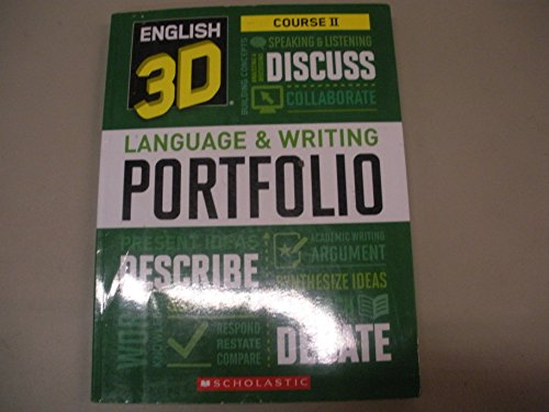 9780545629751: English 3D Language & Writing Portfolio Course II