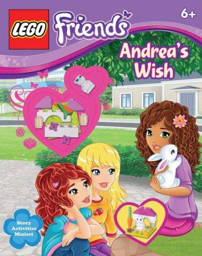 9780545645256: LEGO Friends: Andrea's Wish (Activity Book #3)
