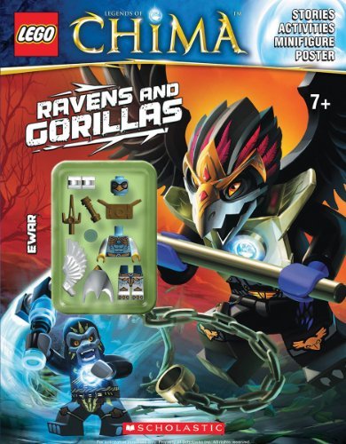 9780545645270: LEGO Legends of Chima: Ravens and Gorillas (Activity Book #3)