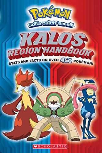 9780545646024: Pokemon: Kalos Region Handbook (Pokemon (Scholastic))