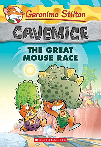9780545646543: Geronimo Stilton Cavemice #5: The Great Mouse Race
