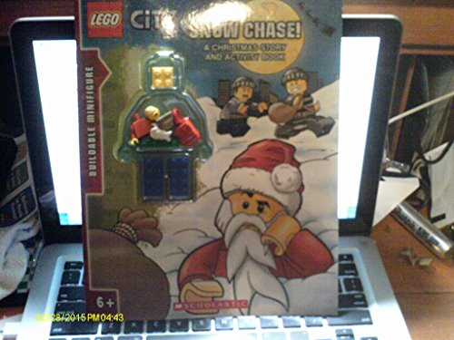 Lego City Snow Chase! A Christmas Story: Scholastic Press