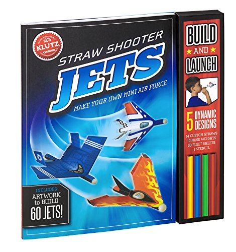 9780545647793: Straw Shooter Jets: Make Your Own Mini Air Force