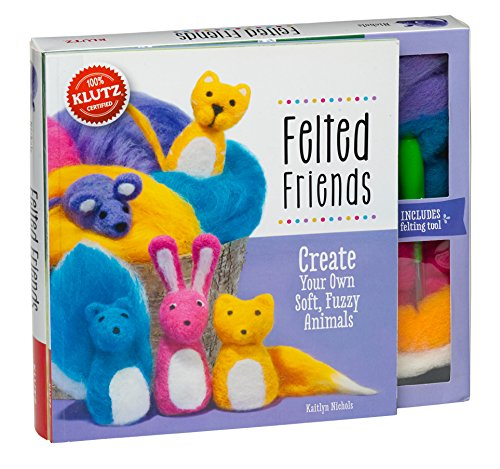 9780545647960: Felted Friends: Create Your Own Soft, Fuzzy Animals