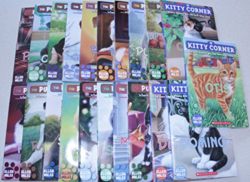 9780545648578: Puppy Place Kitty Corner 21 Book Collection Series