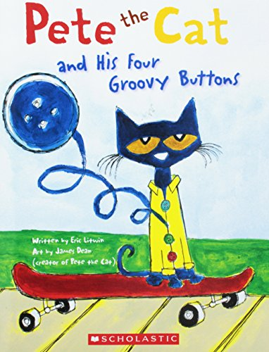 9780545649148: Pete the Cat and His Four Groovy Buttons