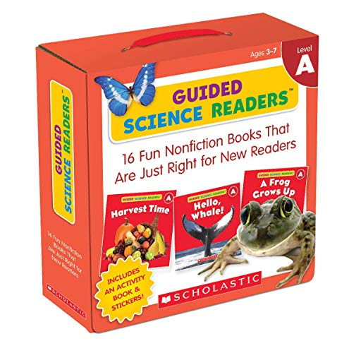 9780545650922: Guided Science Readers Parent Pack: Level A: 16 Fun Nonfiction Books That Are Just Right for New Readers