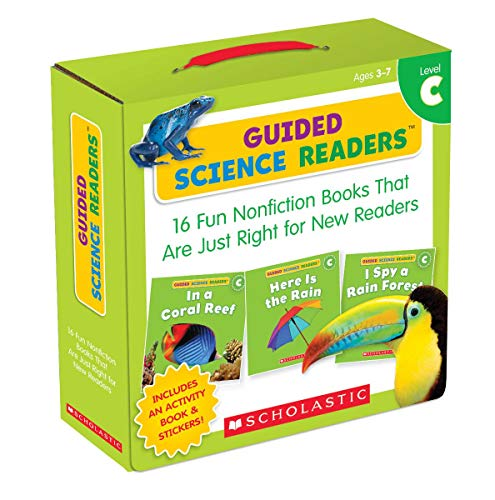 Guided Science Readers Parent Pack: Level C: 16 Fun Nonfiction Books That Are Just Right for New Rea