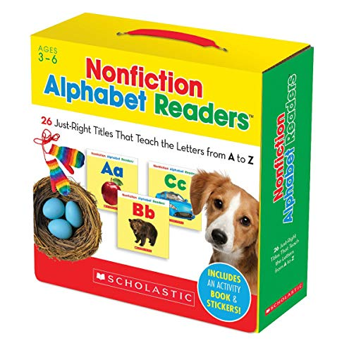 9780545651134: Nonfiction Alphabet Readers Parent Pack: 26 Just-Right Titles That Teach The Letters from A to Z