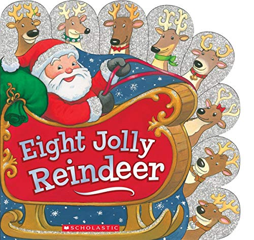 9780545651455: Eight Jolly Reindeer